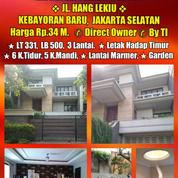Rumah Bagus Ada Lift Di Jln Hang Lekiu Kebayoran Baru Jakarta Selatan (28204011) di Kota Jakarta Selatan