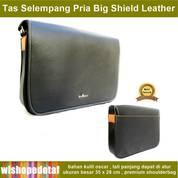 Tas Selempang Kulit Pria Big Shield (28217291) di Kota Jakarta Timur