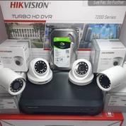 Paket Cctv HIKVISION 2MP 4 Kamera Terima Beres FULL Hikvision (28220271) di Kota Palembang