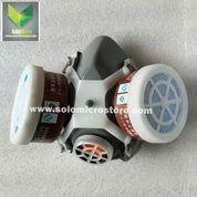 POWECOM Masker Gas Respirator Anti-Virus Debu Industrial Mask (28224335) di Kota Surakarta