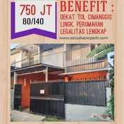 Rumah Harjamukti 2 Lantai Harga 1 Lantai Dekat Tol Cimanggis Depok (28238699) di Kota Depok