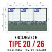 Kios Bekasi Timur TYPE 20/26 Murah Lokasi Strategis (28272839) di Kota Bekasi