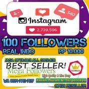 Instagram 100 Followers (28274115) di Kota Jakarta Utara