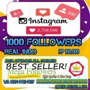 Instagram Followers Indonesia 1000 Followers (28274367) di Kota Jakarta Utara