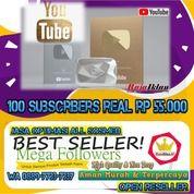Subscriber Youtube 100 Subs Real (28274387) di Kota Jakarta Utara