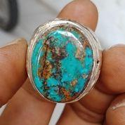 Natural Batu Cincin Pirus Persi Ring Perak (28275091) di Kota Pasuruan