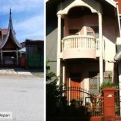 Rumah 2 Lantai Dengan Atap Rumah Ala Minangkabau + Furniture Di Kota Padang (28281939) di Kota Padang