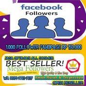 Facebook Fanspage Followers (28291239) di Kota Jakarta Utara