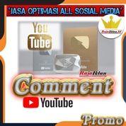 Jasa Comment Youtube Real Bisa Custom (28291251) di Kota Jakarta Utara