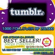 Tambah Followers Tumblr 1000 Followers (28291443) di Kota Jakarta Utara