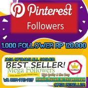 Pinterest Followers 1000 Followers (28291451) di Kota Jakarta Utara