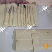 kuas make up , kuas set , brushes set isi 10 bahan bulu kuda dan bulu kambing (2829177) di Kota Magelang
