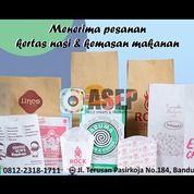 Cetak Kemasan Makanan Dan Kertas Nasi (28297595) di Kota Bandung