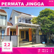 Rumah 2 Lantai Luas 162 Di Permata Jingga Sukarno Hatta Kota Malang _ 417.20 (28301335) di Kota Malang