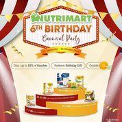 Nutrimart 6th Anniversary Promo (28303431) di Kota Jakarta Selatan