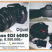 Kamera Canon EOS 600D (28303451) di Kota Banda Aceh
