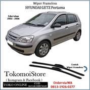 Wiper Frameless Hyundai GETZ Pertama 2002 2003 2004 2005 2006 (28305135) di Kab. Klaten