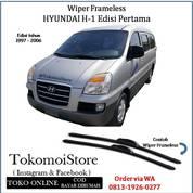 Wiper Frameless Hyundai H-1 H1 Generasi Pertama 1997 1998 1999 2000 2001 2002 2003 2004 2005 2006 (28305819) di Kab. Klaten