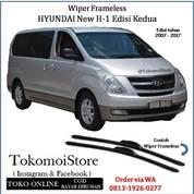 Wiper Frameless Hyundai H-1 H1 2007 2008 2009 2010 2011 2012 2013 2014 2015 2016 2017 (28306031) di Kab. Klaten