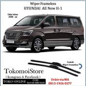 Wiper Frameless Hyundai All New H-1 H1 2017 2018 2019 On (28306175) di Kab. Klaten