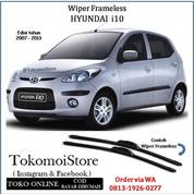 Wiper Frameless Hyundai I10 Edisi 2007 2008 2009 2010 2011 20122 2013 (28306495) di Kab. Klaten