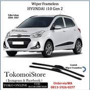 Wiper Frameless Hyundai I10 Gen 2 Edisi 2014 2015 2016 2017 2018 (28306807) di Kab. Klaten