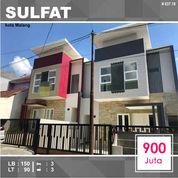Rumah Baru 2 Lantai Luas 90 Di Sulfat Utara Kota Malang _ 637.19 (28308463) di Kota Malang