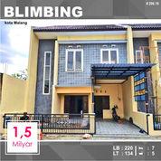 Rumah 2 Lantai Luas 134 Di Seberang Araya Kota Malang _ 206.19 (28309215) di Kota Malang