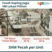 Angsur 12X Bunga 0% Tanah Kapling Jogja Barat Pasar Kotagede Strategis (28318267) di Kota Yogyakarta