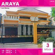 Rumah Mewah + Kolam Renang Luas 300 Di Golf Araya Kota Malang _ 495.20 (28353347) di Kota Malang