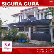 Rumah + Kost 17 Kamar Luas 311 Di Sigura Gura Dinoyo Kota Malang _ 504.20 (28354687) di Kota Malang