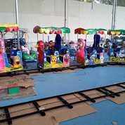 Kereta Lantai Wahana Odong Odong Komplit Asesoris Fullset (28384211) di Kab. Seram Bagian Timur