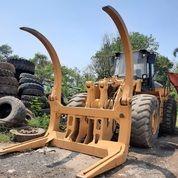 Wheel Loader Caterpillar 980 Dengan Log Fork (28410451) di Kota Jakarta Timur