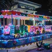 Kereta Panggung Odong Odong Robocar Tayo Full Lampu Led Bayar Dirumah Bisa (28414563) di Kab. Luwu Timur
