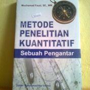 Buku Metode Penelitian Kuantitatif Sebuah Pengantar (28423395) di Kota Semarang