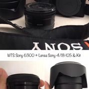 Sony Mirroless 6300 Kit Dan Lensa Sony 4/18-105 (28425739) di Kota Jakarta Pusat