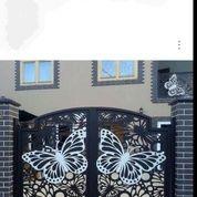 Pintu Pagar Plat Motip (28430019) di Kota Kupang