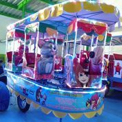 Kereta Panggung Odong Fiber Plat Termurah ,Siap Pakai Usaha (28454239) di Kab. Bone Bolango