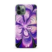 Purple Acrylic Folwery Painting Google Pixel 4 Custom Hard Case (28461519) di Kota Bekasi