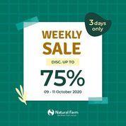 Natural Farm Weekly Sale! Discount up to 75% (28462247) di Kota Jakarta Selatan