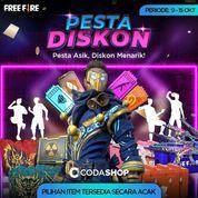 Codashop Promo Booyah Day Pesta Diskon Free Fire! (28468415) di Kota Jakarta Selatan