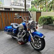 Harley Davidson Road King Tahun 2018 Warna Electric Blue (28475739) di Kota Jakarta Selatan