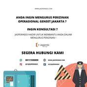 IZIN OPERASIONAL GENSET JAKARTA (28499507) di Kota Tangerang Selatan