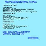 Lowongan Jabotabek Lulusan Sma/Smk 2020 (28512251) di Kota Jakarta Barat