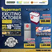 Hypermart Exciting October Disc. Up To 10% (28525763) di Kota Jakarta Selatan