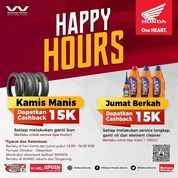 Wahana Honda Happy Hours Promo (28537579) di Kota Jakarta Selatan