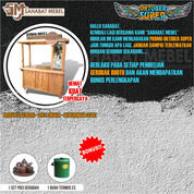 Booth Portable / Gerobak Usaha 3 Termurah (28547787) di Kab. Bogor