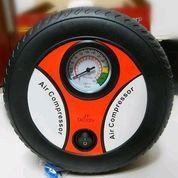 Pompa Ban Model Roda Air Pump Air Compressor Portable Colokan Motor (28559171) di Kota Surabaya