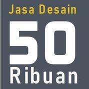 Jasa Desain 50ribuan (28563639) di Kota Jakarta Selatan