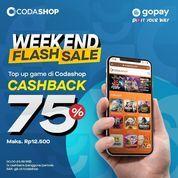 Codashop Diskon 75% untuk pembelian Game Favorite-mu di Codashop pakai GOPAY (28566379) di Kota Jakarta Selatan